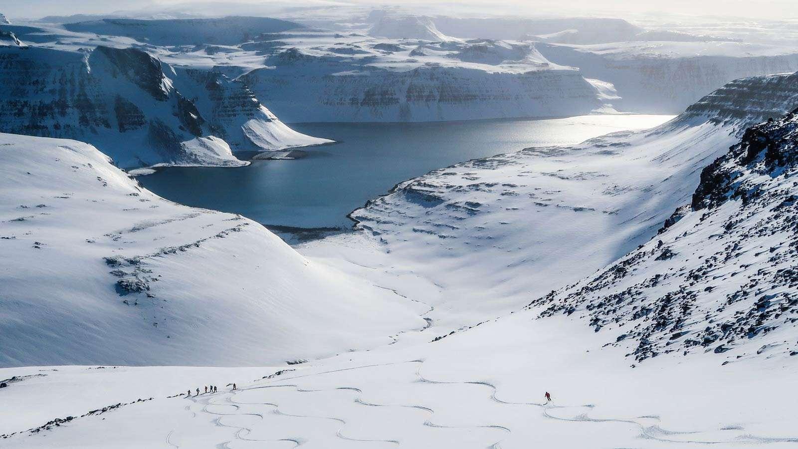 iceland ski and sail