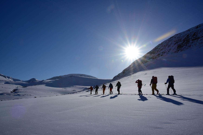 ski and sail greenland