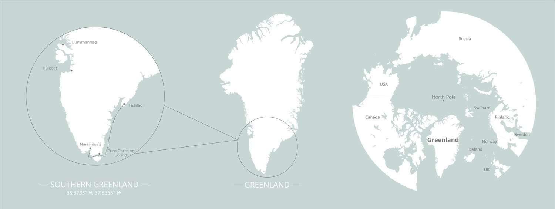 greenland cruise map