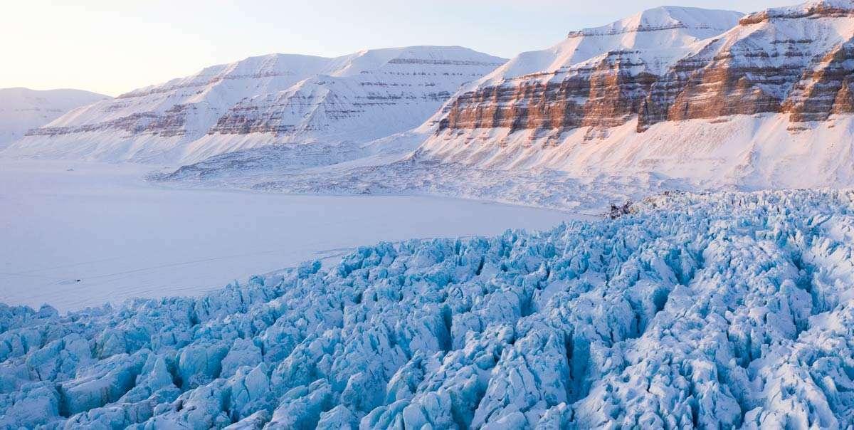 svalbard glaciers