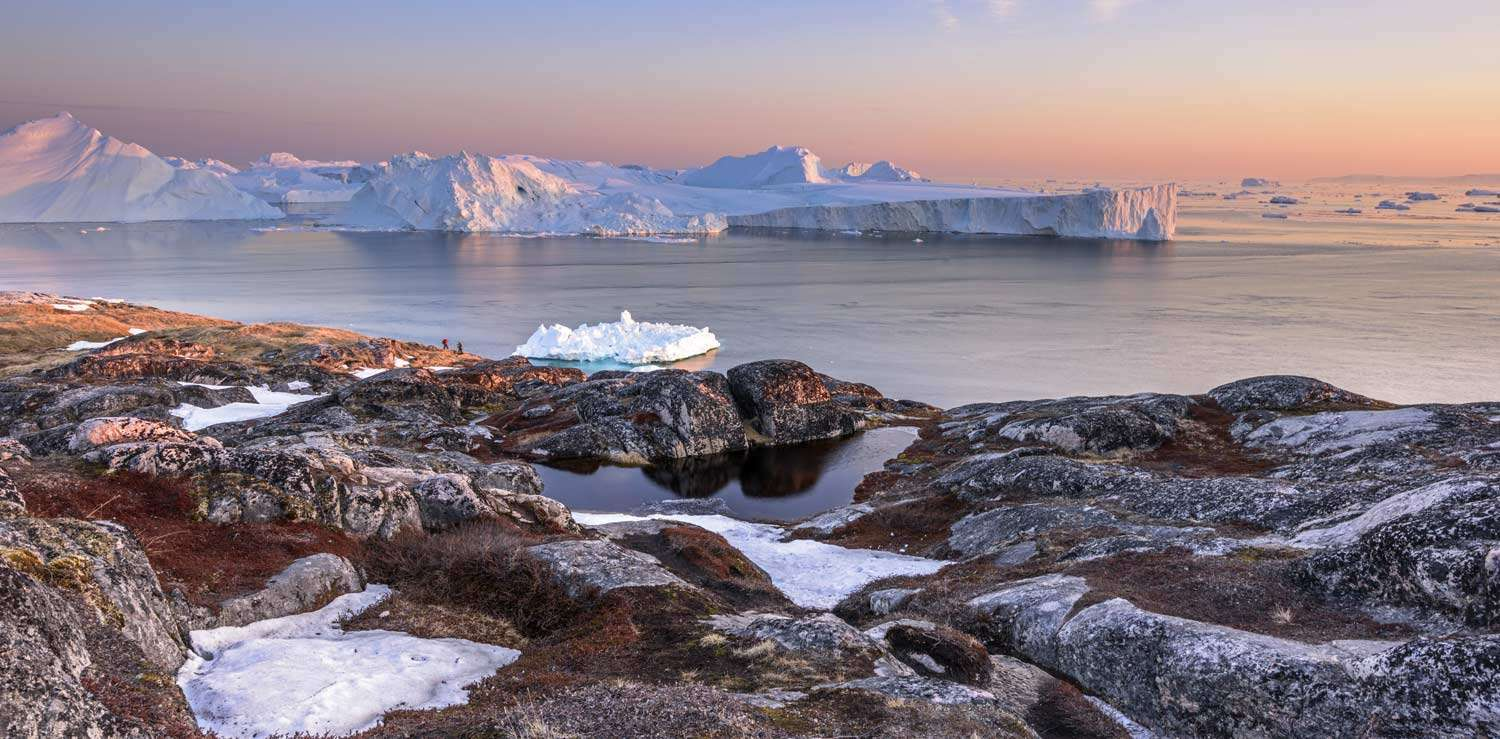 cruise to disko bay in greenland