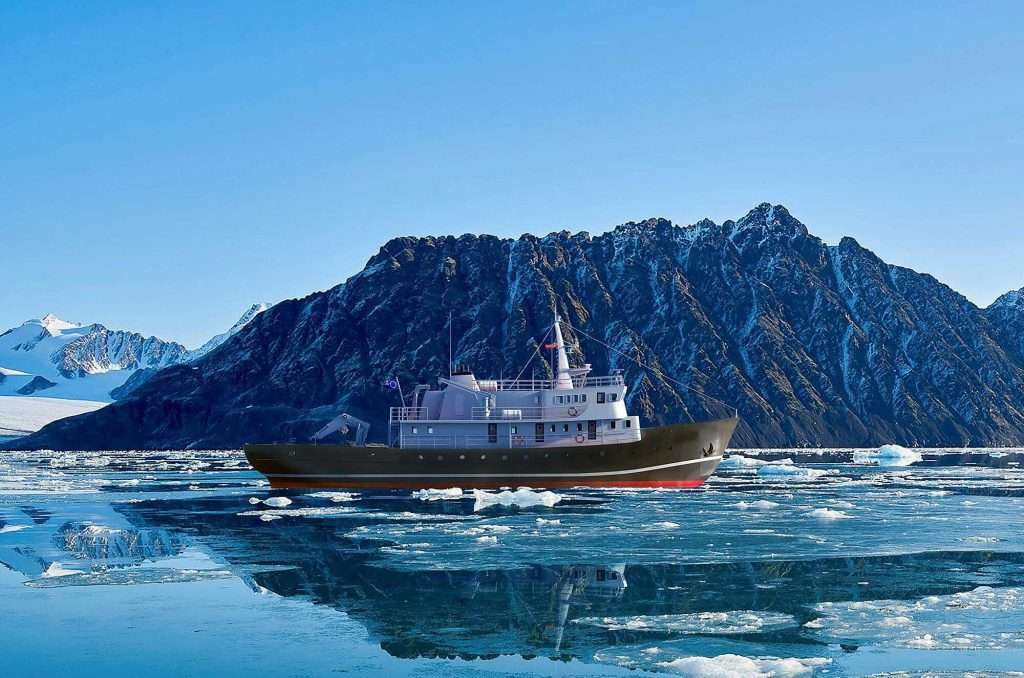 arctic boat charter expedition vessel cruise