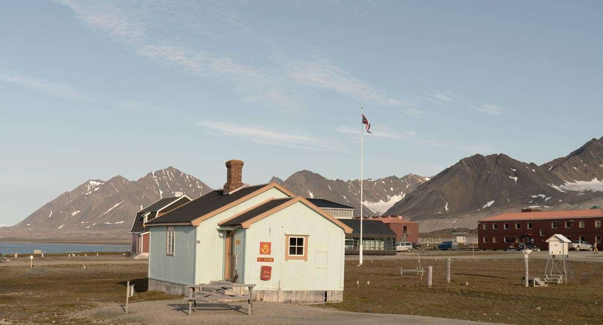 cruise to ny-Alesund in svalbard