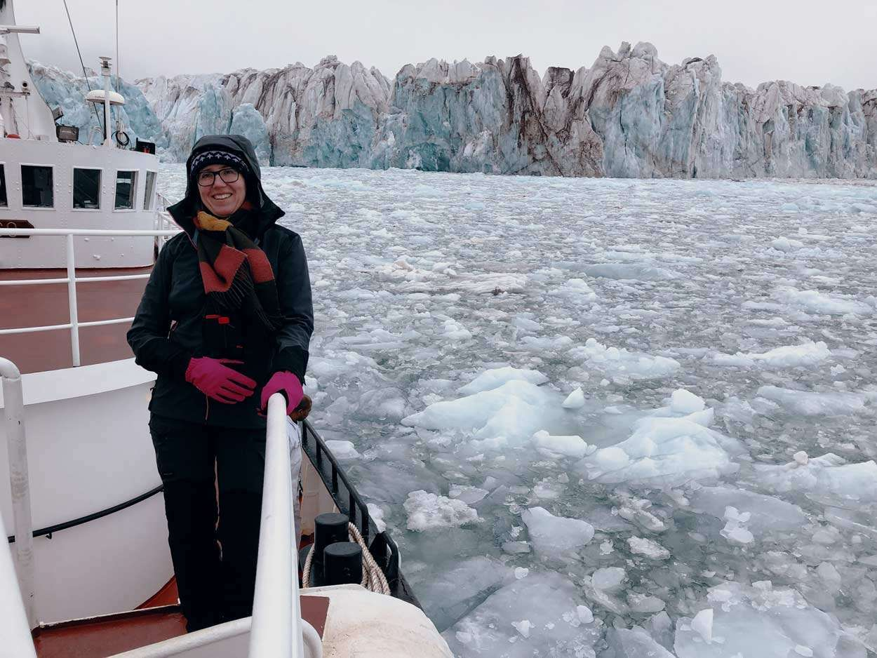 svalbard expedition cruise glacier visit